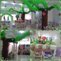 Awesome balloon decoration. Decoracion con globos fabulosa!!