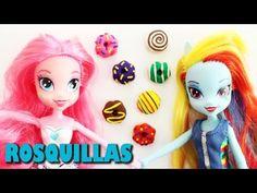 Cómo hacer donas, donuts, berlinas o rosquillas para tus muñecas - Manualidades para muñecas - YouTube