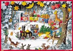 Vermont Christmas Company Holiday Train Advent Calendar by Vermont Christmas Company ** To view further for this item, visit the image link.