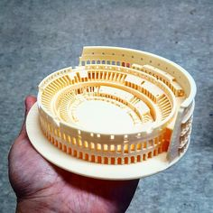 Something we liked from Instagram! #로마 #콜로세움 #3d프린터 #모형 #경기장 #모델 #취미 #rome #colosseum #3dprint #3dprinter #model by jwyoo13 check us out: http://bit.ly/1KyLetq