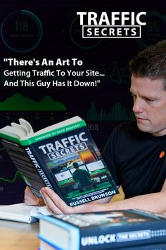 There is an artoto getting traffic to your site... And this guy has it down ! #RussellBrunson #TrafficSecrets #ClickFunnels #Traffic #Secrets #Funnels #DreamCustomers Formation Continue, The Secret Book, Great Artists, Lorem Ipsum, Art Projects, Magazine, Guys, Reading, Books