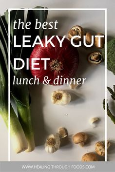 Need more recipes ideas for leaky gut? Check out these delicious tips to get you started - your diet doesn't have to be boring just because you have food sensitivities, digestion problems, or skin issues. These recipes are delicious and will heal your gut!