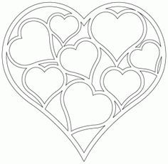 Hearts of Hearts - Digital cutting patterns
