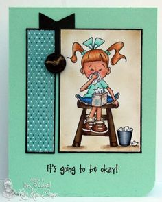 Tissues for Lulu by MrsOke - Cards and Paper Crafts at Splitcoaststampers