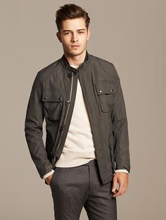 Discover Banana Republic men's outerwear sale for bargains on the latest styles. We offer men's outerwear sale items including topcoats, jackets, blazers and more at a real savings. Fransico Lachowski, Men's Fashion, Fashion Trends, Petite Fashion, Curvy Fashion, Fashion Bloggers, Fall Jackets, Shop Jackets, Mens Fall