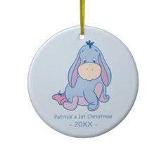 Baby's First Christmas, Baby Eeyore Ornaments