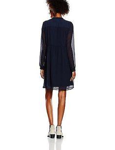 36 (Manufacturer size: Small), Blue (Navy Blazer Detail:SOLID), Vero Moda Women'