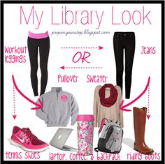 My Library Look - Prep In Your Step --- these suggestions are too cute! @Dorothy W.