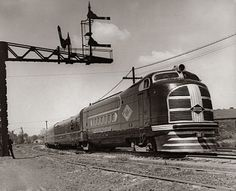 The Green Diamond of the Illinois Central Railroad was a diesel streamliner built in 1936.