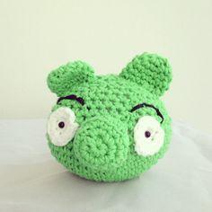 Crochet angry birda