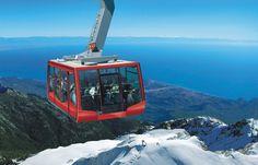Olympos Cable Car to Tahtali Mountains, Turkey - Téléphérique en Turquie, avec neige et mer !