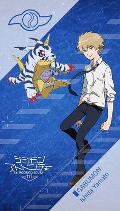 Ishida Yamato - Matt _ GABUMON Digimon Adventure
