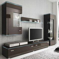 Modern Tv Cabinet, Modern Tv Wall Units, Tv Cabinet Design, Tv Wall Design, House Design, Wall Unit Designs, Tv Stand Designs, Living Room Wall Units, Living Room Tv Unit Designs