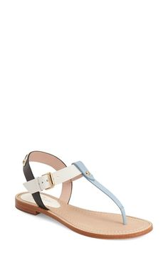 KATE SPADE NEW YORK 'Sky' Flat Sandal (Women). #katespadenewyork #shoes #flats