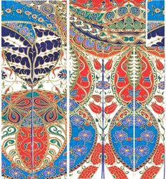 Ottoman pattern lay