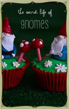 gnome cupcakes @Lorraine Elliott