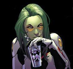 Gamora ( Gardiens de la Galaxie ) // Marvel // Art