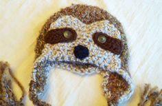 This sloth hat to shelter your baby sloth's brain.