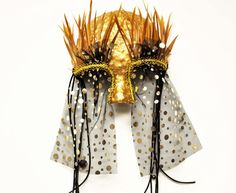 Peepers Recycled Paper Masquerade Mask by TARAIZE on Etsy, $55.00