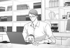 Love is an illusion Anime Boys, Manga Anime, Mpreg Anime, Anime Couples Manga, Manhwa Manga, Cute Anime Guys, Haikyuu Anime, Hiro Big Hero 6, Bl Comics