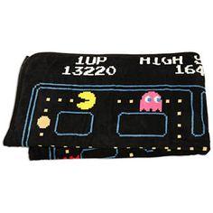 Pac-Man Fleece Blanket