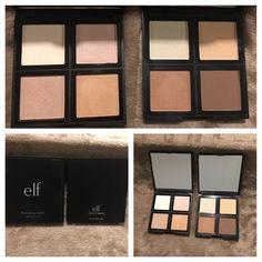 """""""ELF"""" Illuminating & Contour Palettes """"ELF"""" Illuminating & Contour Palettes: (very gently used) Retail Value $12 ELF Makeup Bronzer"""
