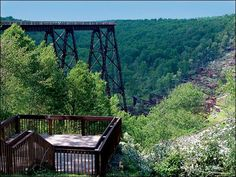 """The Allegheny National #Forest covers approximately 517,000 acres across northwestern Pennsylvania and offers four seasons of outdoor recreation. Nearby in the amazing Kinzua Sky Walk. Visitors can stop in at the Kinzua Bridge State Park to """"walk the tracks across the sky,"""" take a hike or enjoy a picnic. The new Kinzua Bridge Visitors Center will open sometime in 2016."""
