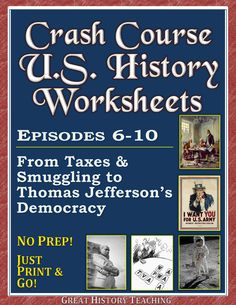 Printables Free Us History Worksheets other graphics and student on pinterest crash course u s history worksheets make teaching learning fun a mix of t