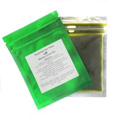 Replenishing Hair Mask with Matcha Green Tea Replenishing Hair Mask with Matcha Green Tea Pore Mask, Blackhead Mask, Face Mask For Pores, Diy Face Mask, Face Masks, Green Tea For Hair, Butter Ingredients, Hair Mask For Growth, Carrot Seed Oil