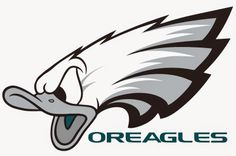 Chip Kelly and the Philadelphia Eagles love to draft Oregon Ducks... I guess a logo change should be made. Go OREAGLES! Go Ducks Fly Eagles Fly... www.WildKingdumb.com