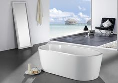 Eviva Ramo Free Standing Acrylic Bathtub Eviva Ramo Free Standing 60 Inch Acrylic  Bathtub Is One Of The Best Free Standing Tubs That Was Designed And ...