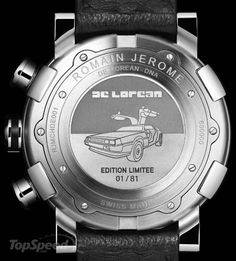 Made by Swiss watchmakers Romain Jerome the watch is limited to 81 pieces.