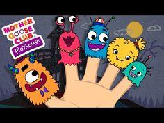 Halloween Songs   Finger Family   Monster Finger Family   Mother Goose C...