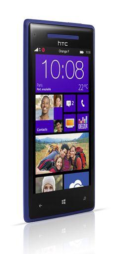 Windows Phone 8X par HTC bleu  http://vivement-noel.orange.fr/#