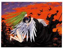 Code geass Lelouch of the Rebellion postcard promo CLAMP C. Anime Couples Manga, Cute Anime Couples, Manga Anime, Anime Guys, Code Geass Wallpaper, Hd Wallpaper, Wallpaper Quotes, Manga Illustration, Graphic Illustration