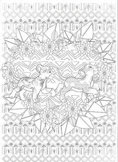 161 Meilleures Images Du Tableau Coloriage Roi Lion Coloring Pages