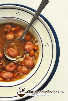 How To Make Weenie Soup - This recipe is very old. It is an unusual and delicious soup. Serve with a crusty sourdough or rolls. Low-fat hot dogs work fine in this recipe. #soup #recipes