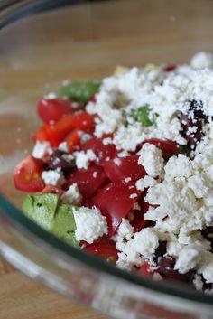 Jane Richmond Blog: Greek {Quinoa} Salad
