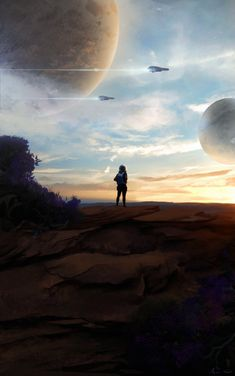 Uncharted Planets, No Man's Sky? by Arjen-Sol