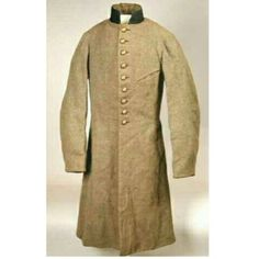Confederate Army officer's coat belonging to Christopher (Kit) Williams of Henderson County, member of the 27th Tennessee Infantry. An attorney in Memphis, raised a company in his hometown of Lexington.He was chosen colonel of the regiment.Williams and the 27th were at the Battle of Shiloh whereWilliams was struck and killed by a bullet to the chest. Tennessee State Museum Collection, 2005.73