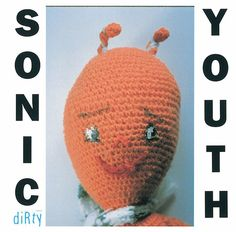 Album Dirty de Sonic Youth par Mike Kelley (1992)