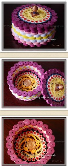 Quilled Jewellery Box by Nupur Bhatia / http://thrilling-quilling.blogspot.ca