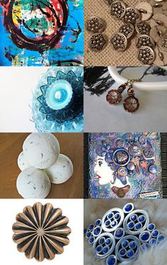 Circles by Elissa Haque on Etsy--Pinned with TreasuryPin.com