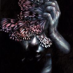 """Headache II"" #coloredpencils #paper #fabercastell #polychromos @galleriagiovannibonelli"