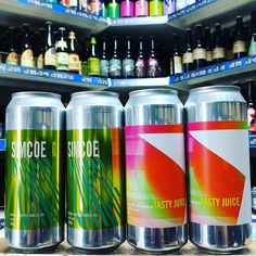 Simcoe - 6% Double Hopped Simcoe IPA & Tasty Juice - 6% Double Hopped Citra IPA from @lervigbeer available now