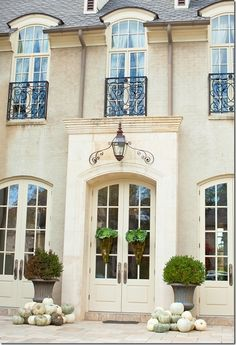 Country French Windows | beautiful windows and doors | French Country