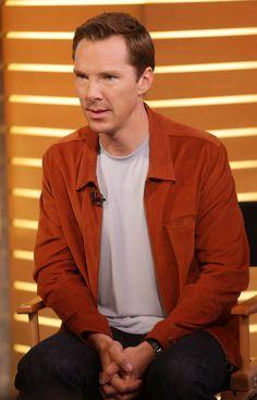 Benedict Cumberbatch on Good Morning America