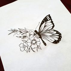 6 Tattoo Designs To Get Over Heartbreak In Who said getting a tattoo to ma. : 6 Tattoo Designs To Get Over Heartbreak In Who said getting a tattoo to ma., butterflydrawing Designs Heartbreak tattoo Tattoo Designs Over Cool Art Drawings, Pencil Art Drawings, Art Drawings Sketches, Tattoo Drawings, Cute Tattoos, Flower Tattoos, Body Art Tattoos, Small Tattoos, Butterfly Drawing