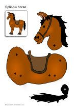 Split pin horse craft (also royal guard)
