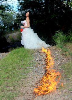 Divorce photo shoot